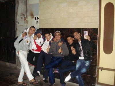 me & mes amis