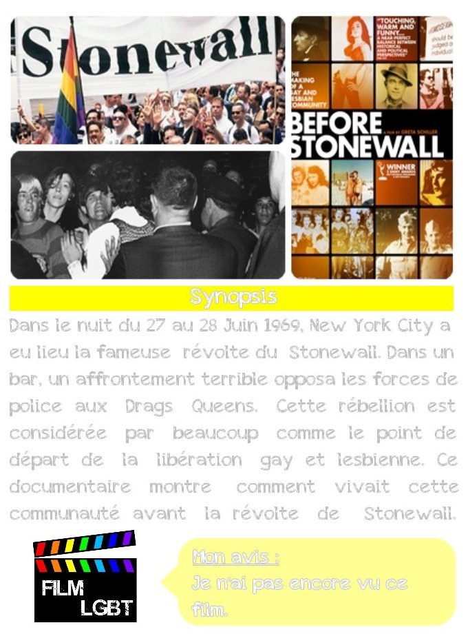 Before Stonewall ★★★★