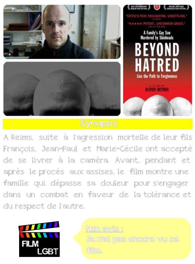 Beyond hatred (Au-delà de la haine) ★★★
