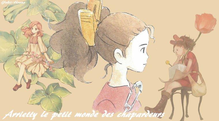 Arrietty le petit monde des chapardeurs !