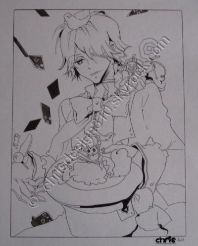 PANDORA HEARTS ( Xerxes break )