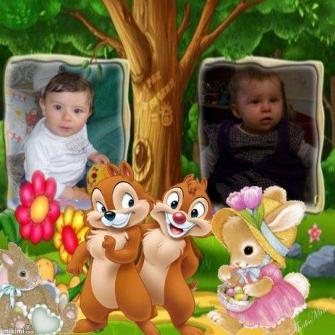 mon fils et ma couzine