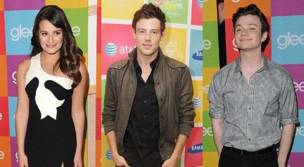 Glee saison 3 : Rachel, Finn et Kurt quittent le lycée