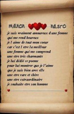 Poeme Pour Mon Bébé D Amour Jtm Manon Jtm Nasro