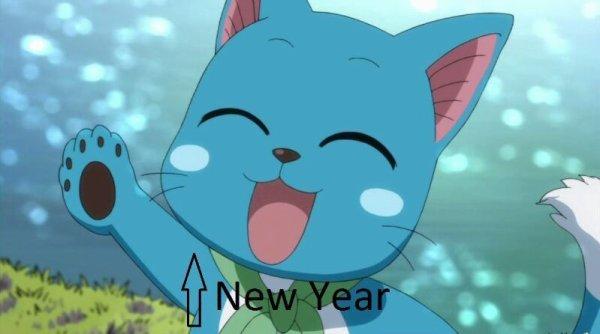 Bonne année mes petits poissons!!!!