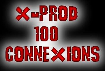 X-Prod100connexions