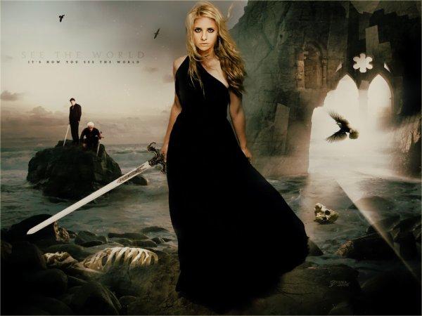 Buffy contre les vampire!