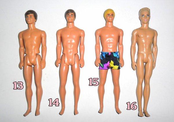 Barbie et Ken a Identifier / Qui est-ce ? Merci de votre aides !