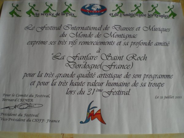Festival de Montignac 2011