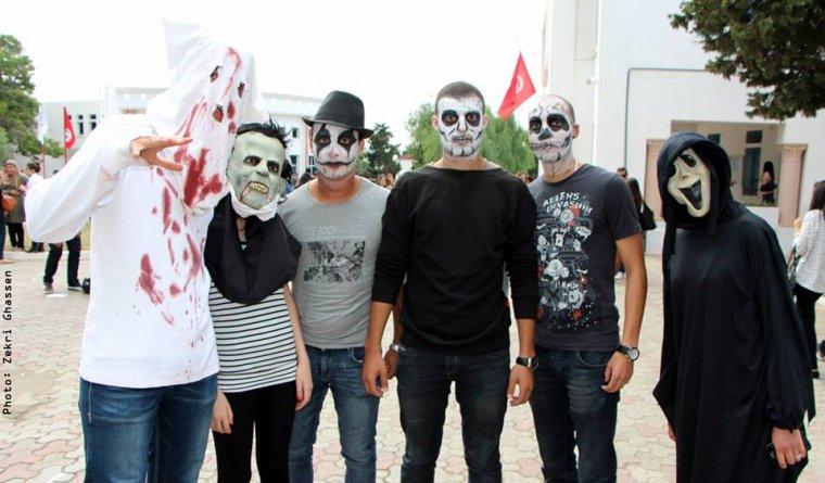 Halloween 2013 à la Fac x)