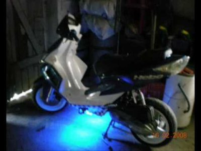 ancien scoot tuning kymco