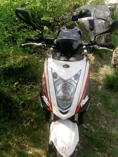 mn new scoot kymco rs pas encore tuning bientot