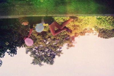 S'allonger dans l'herbe, et rêver..