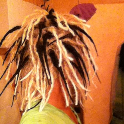 perruque Dreads