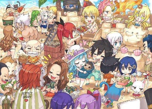 commune Fairy Tail, One Piece et Autres!