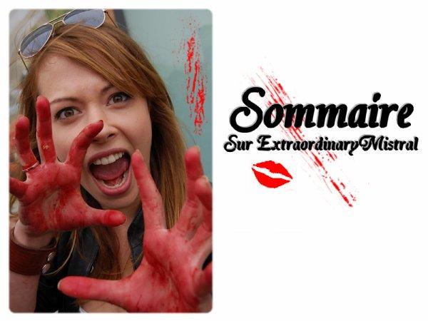 ●๋• Article Two : Sommaire & Pense Bête By ExtraordinaryMistral ♥