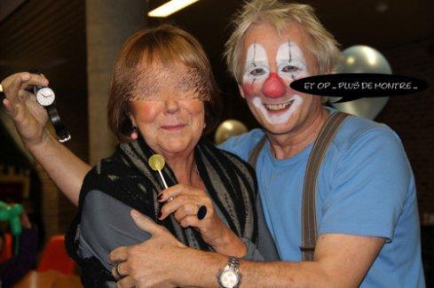 Clown et Rapace . Fau-connerie