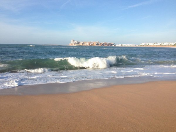 la plage de ma ville bouznika