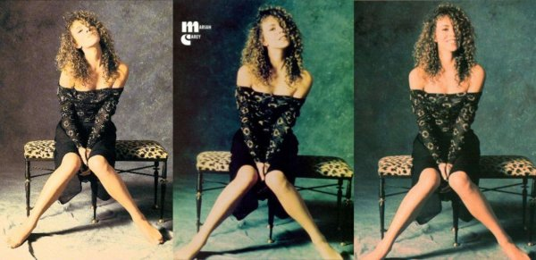 """~ Photoshoot réalisé par le photographe Kip Meyer, pour la pochette du single """"Vision Of Love"""" ainsi que de son 1e album """"Mariah Carey"""" ~"""
