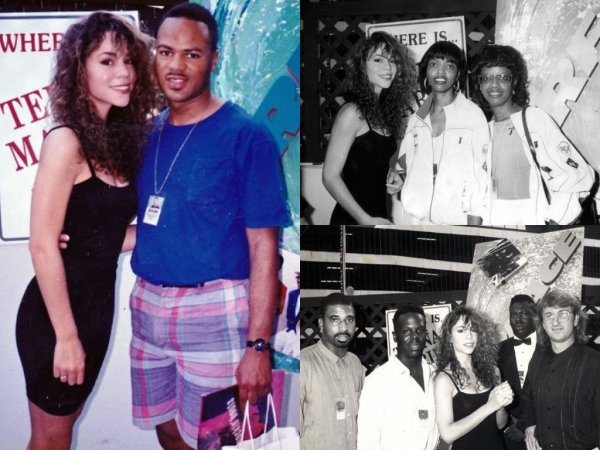 ~ Mariah était à la convention de Jack The Rapper Family Affair, à l'Hotel Hilton Atlanta à Atlanta, le 18 Aout 1990 ~