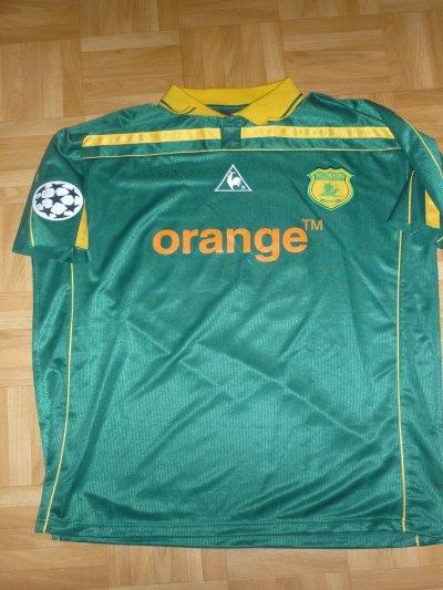 Maillot porté Savinaud Ligue des Champions 2001/2002