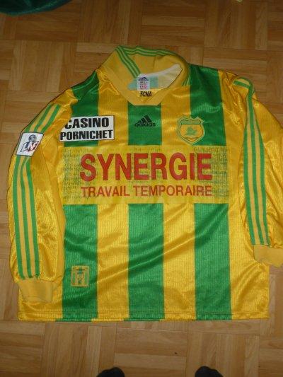 Maillot porté Savinaud Championnat 1998/1999