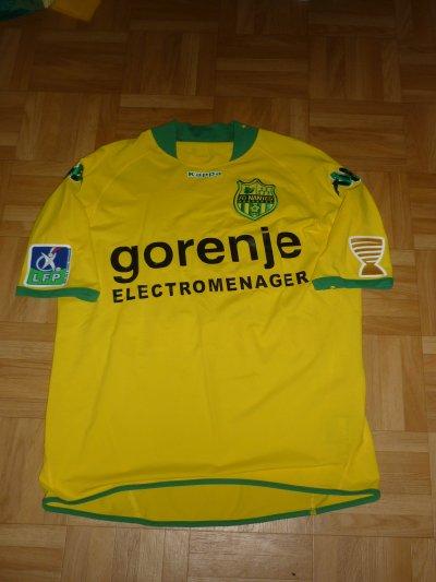 Maillot porté Faty Coupe de la Ligue 2009