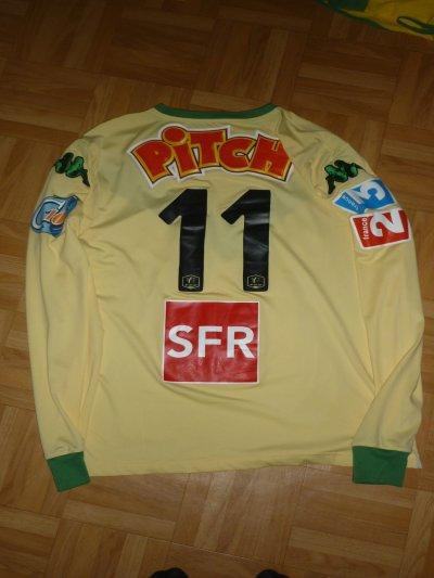 Maillot porté Capoue (11) Coupe de France 2009/2010