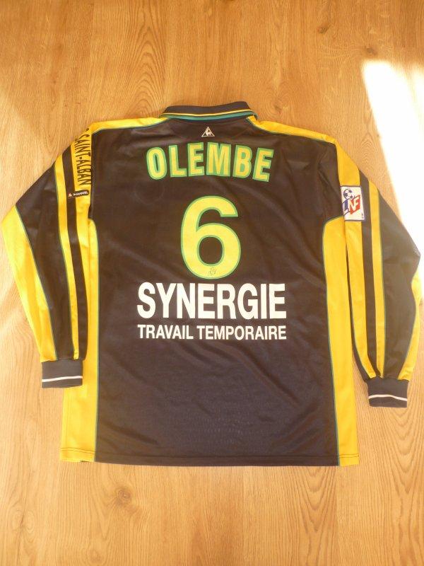 Maillot porté Olembé Championnat 2000/2001