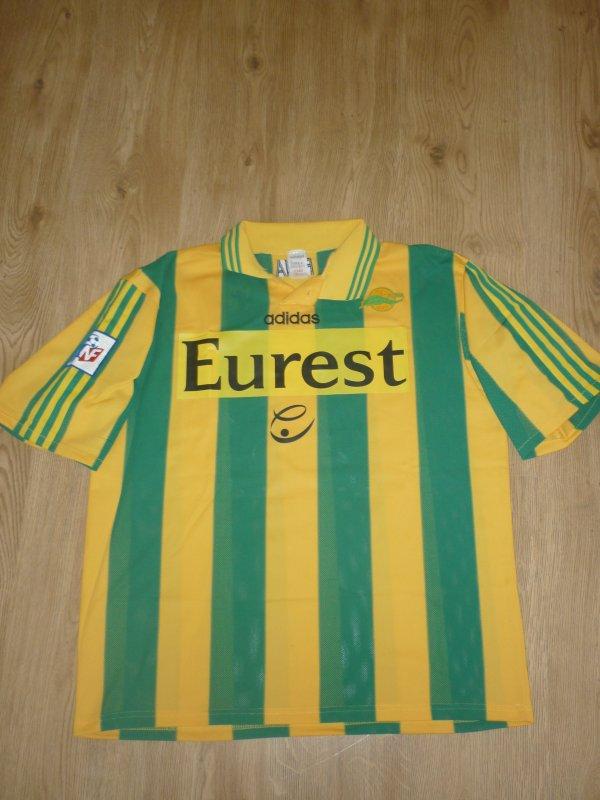 Maillot porté N°23 Championnat 1997/1998