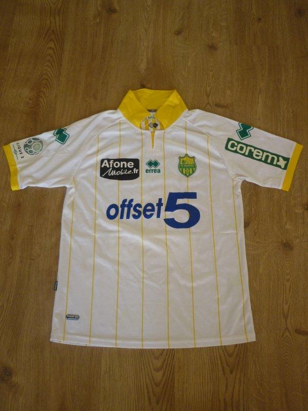 Maillot porté Djordjevic Championnat (Lens-Nantes) 2011/2012