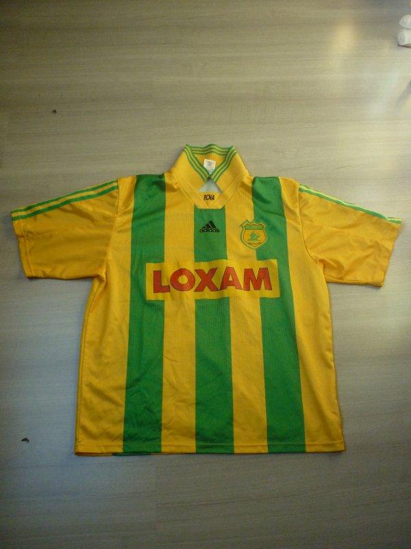 Maillot porté Macé UEFA 1999/2000