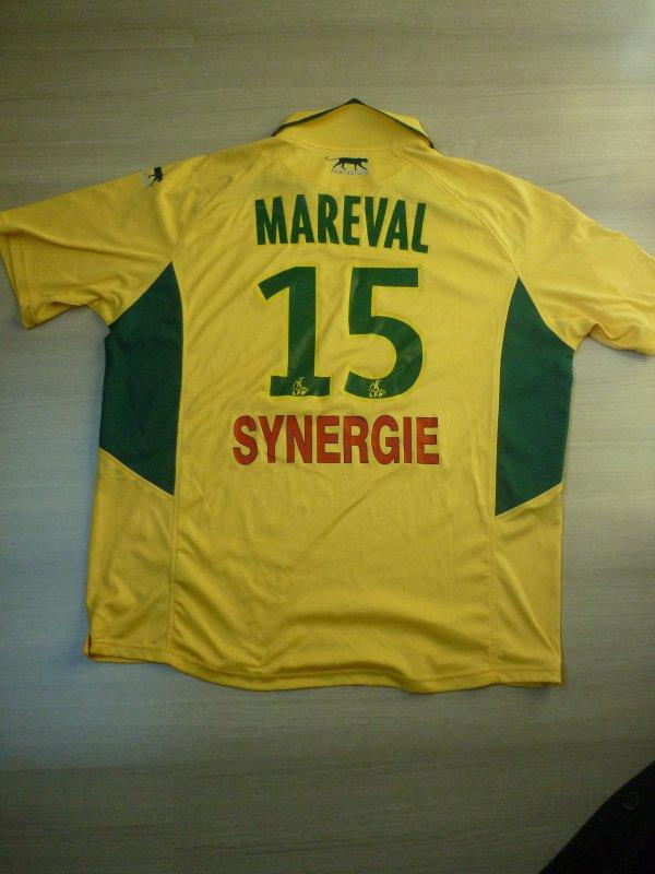 Maillot porté Mareval Championnat 2006/2007