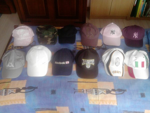 Ma Tite Collection de Casquettes (12) <3