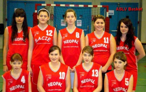 Aslv Basket : plus qu'un club. Mon club ♥.