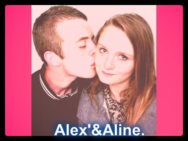 Alex' et Aline <3