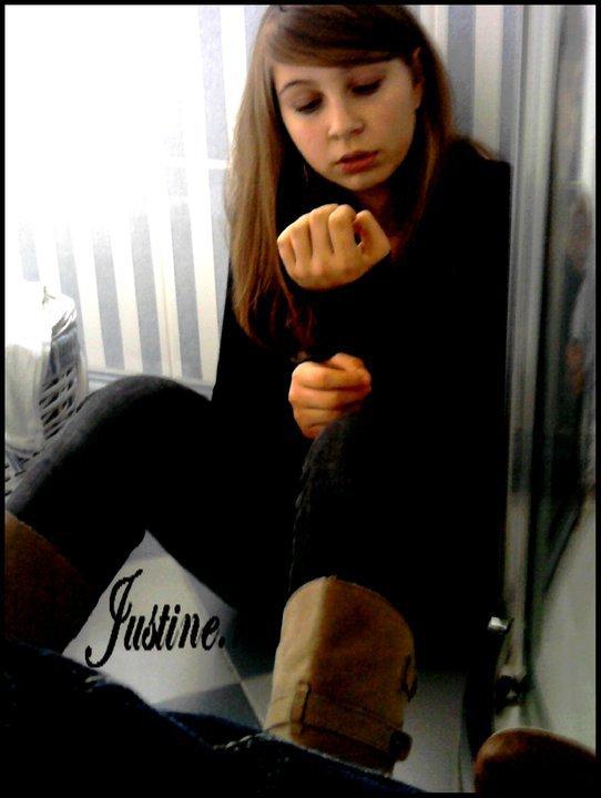 Une cousine.. Justine..❤