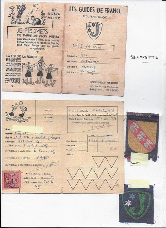 Scout de France : Jeannette