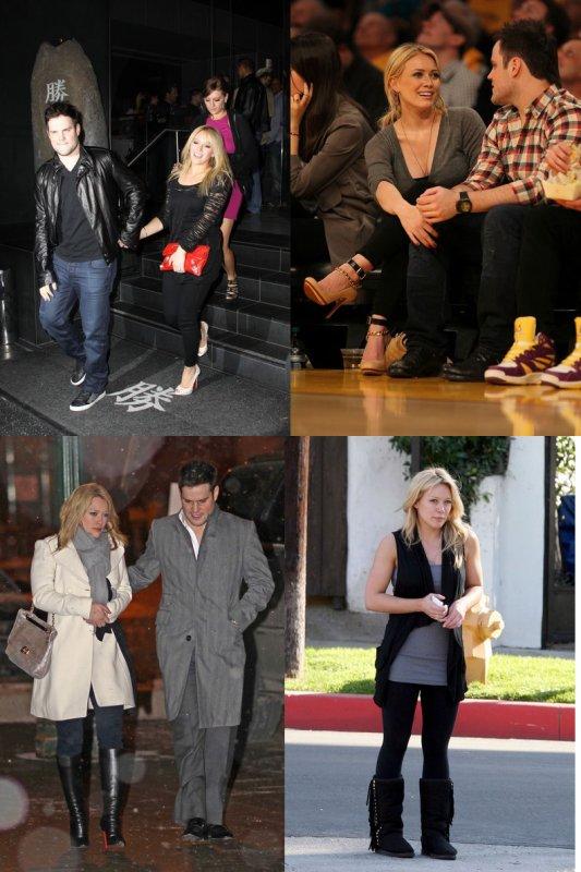 Les chaussures et Hilary