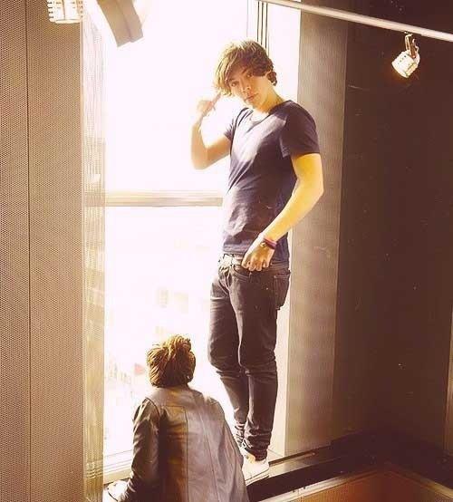 Harry est un ange.