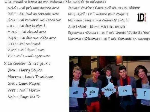Phrase One Direction (J'en ai trouer d'autres)