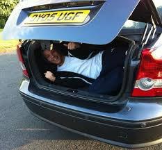 J'ai trouver Louis dans ma voiture.