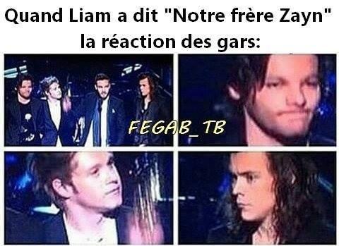 Mais Louis dans son regard ça se voit que il est dégoûter.