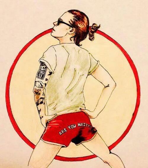 Mais même Harry a de belles fesses !