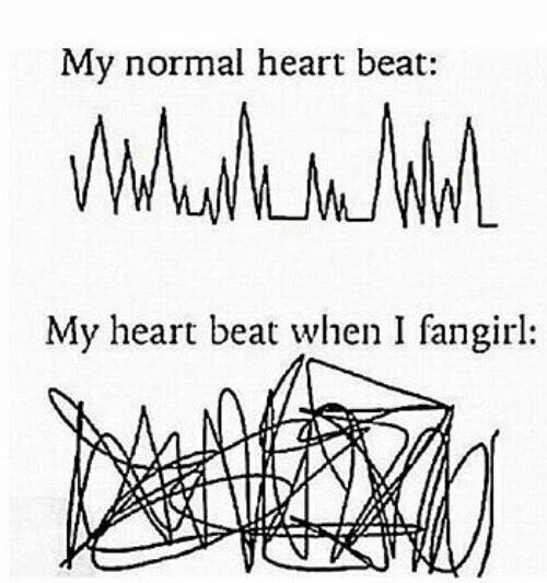 Mais moi ma santé est fragile quand je vois les One Direction !