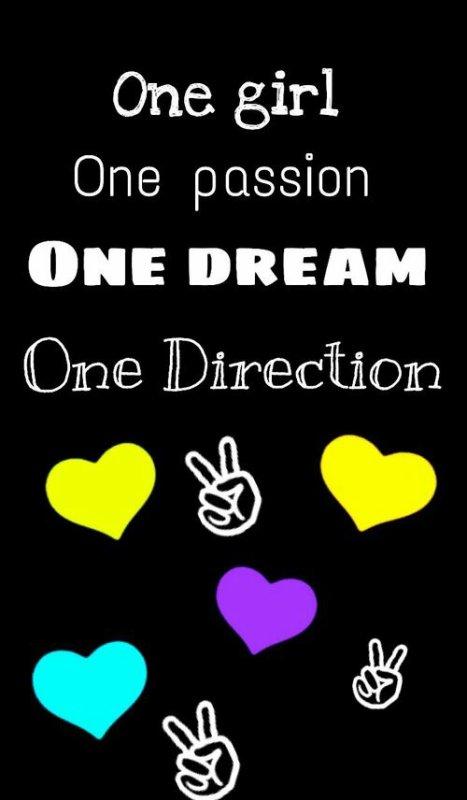 Je suis une fille, j'ai une passion, j'ai un rêve, j'ai une direction, One Direction. Si c'est ton cas, remixe !