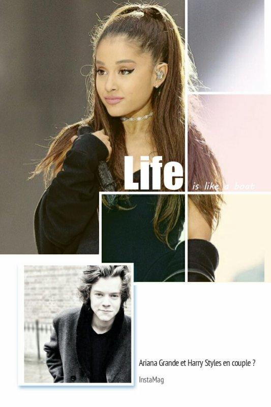 #MagazineRPG : Ariana Grande et Harry Styles ensembles ?