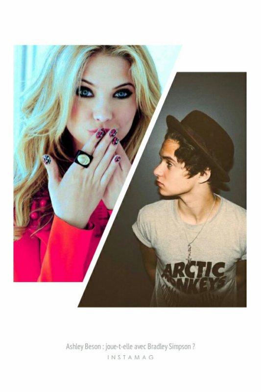 #MagazineRPG : Ashley Benson : joue-t-elle avec Bradley Simpson ?