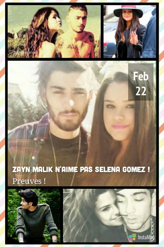 #MagazineRPG : Zayn Malik n'aime pas Selena Gomez ! Preuves !