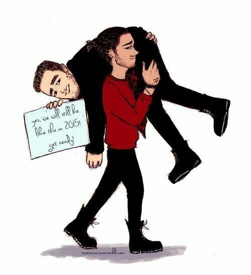J'ai peur que Liam tombe xD #JournéeZiamShipper